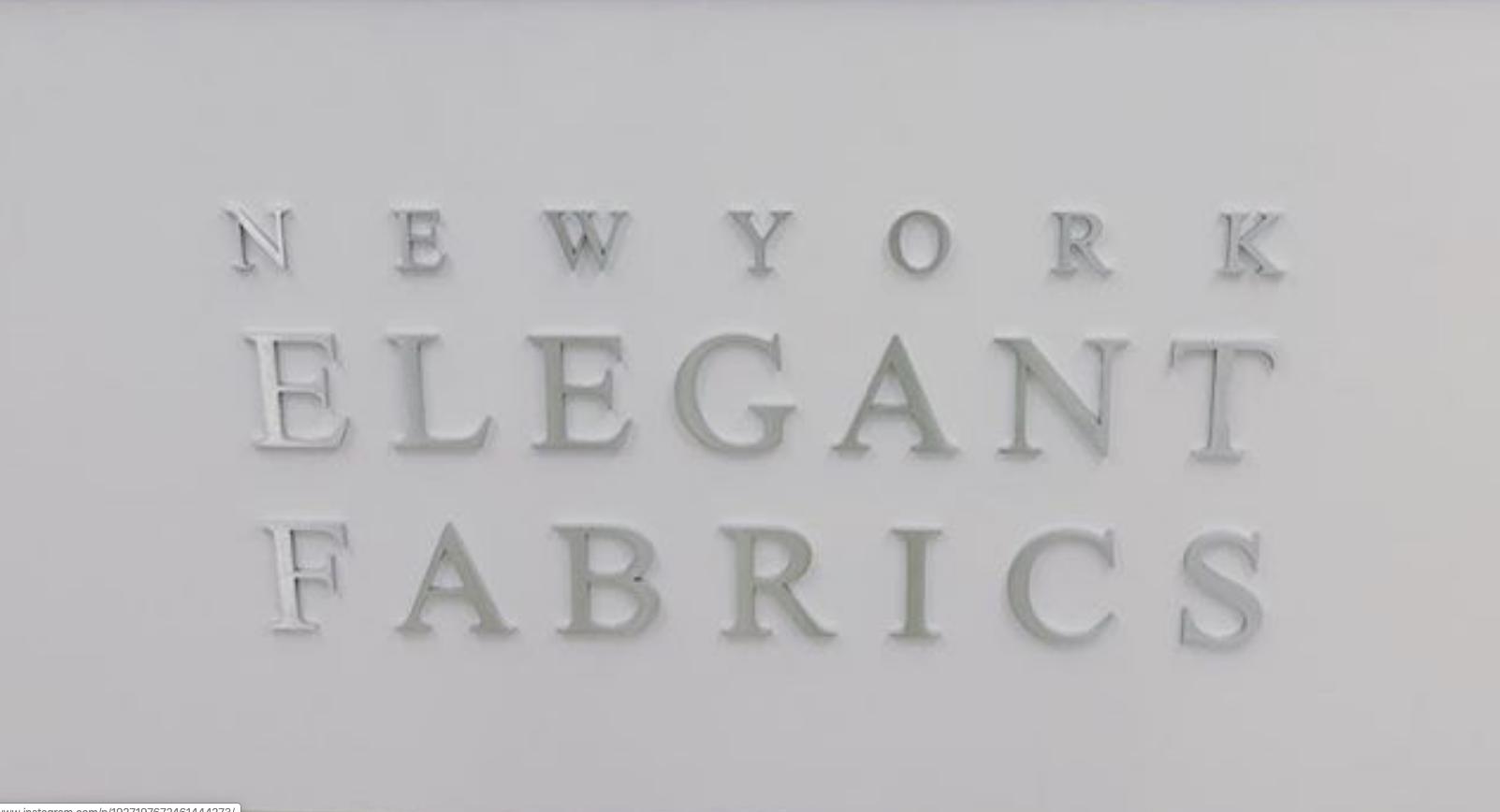Elegant Fabrics