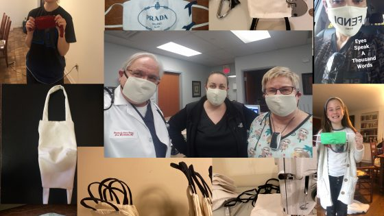 Donation Masks Drop-Off — Group Effort