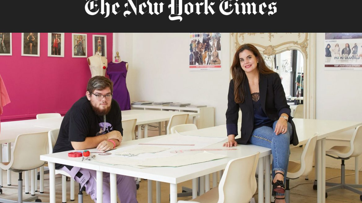 karen lozner of karens school of fashion ny nj featured on the new york times